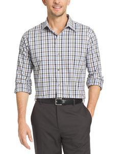 Van Heusen Indigo Casual Button Down Shirts