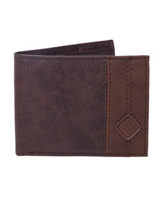 Columbia Brown Bi-fold Wallets