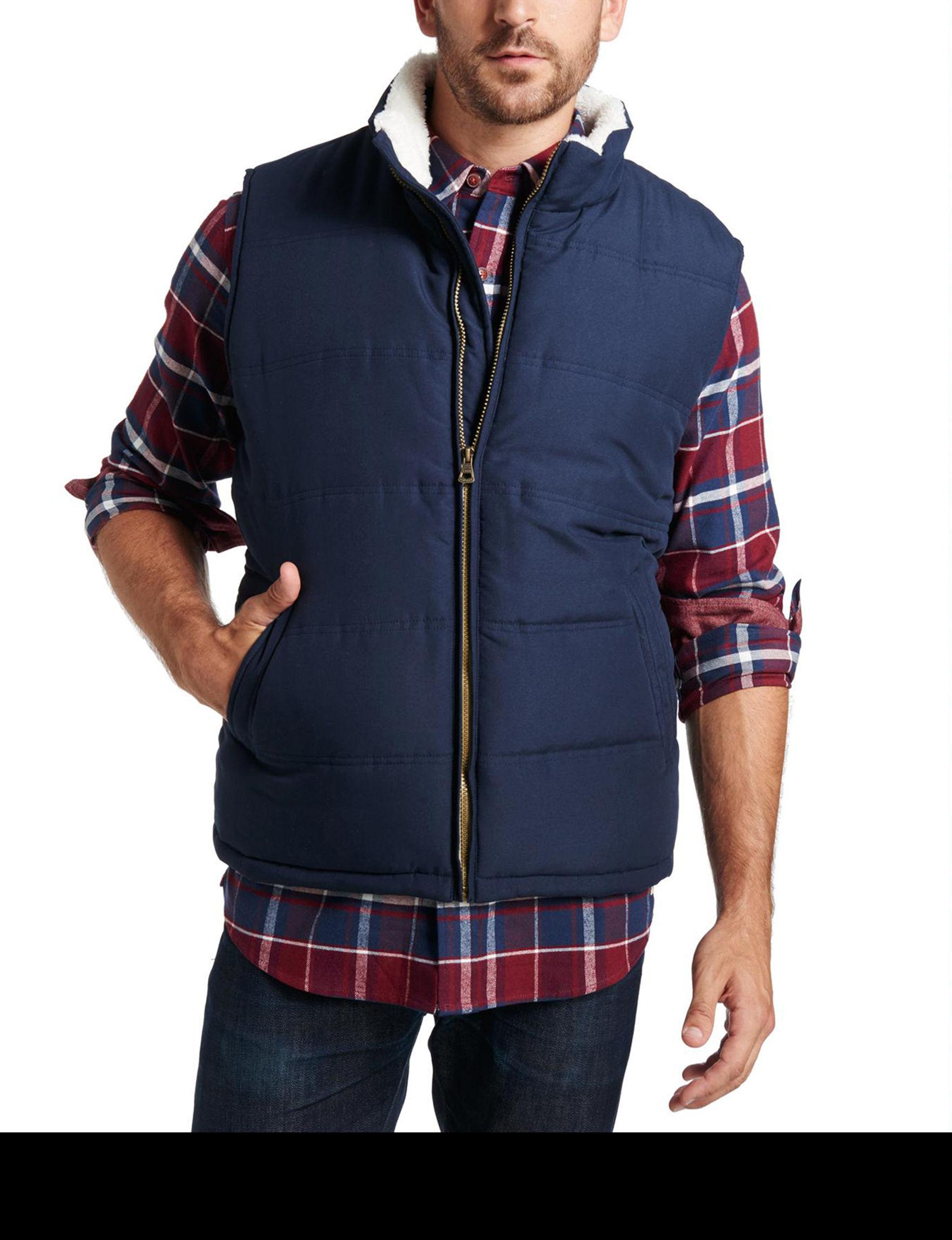 Weatherproof Navy Vests