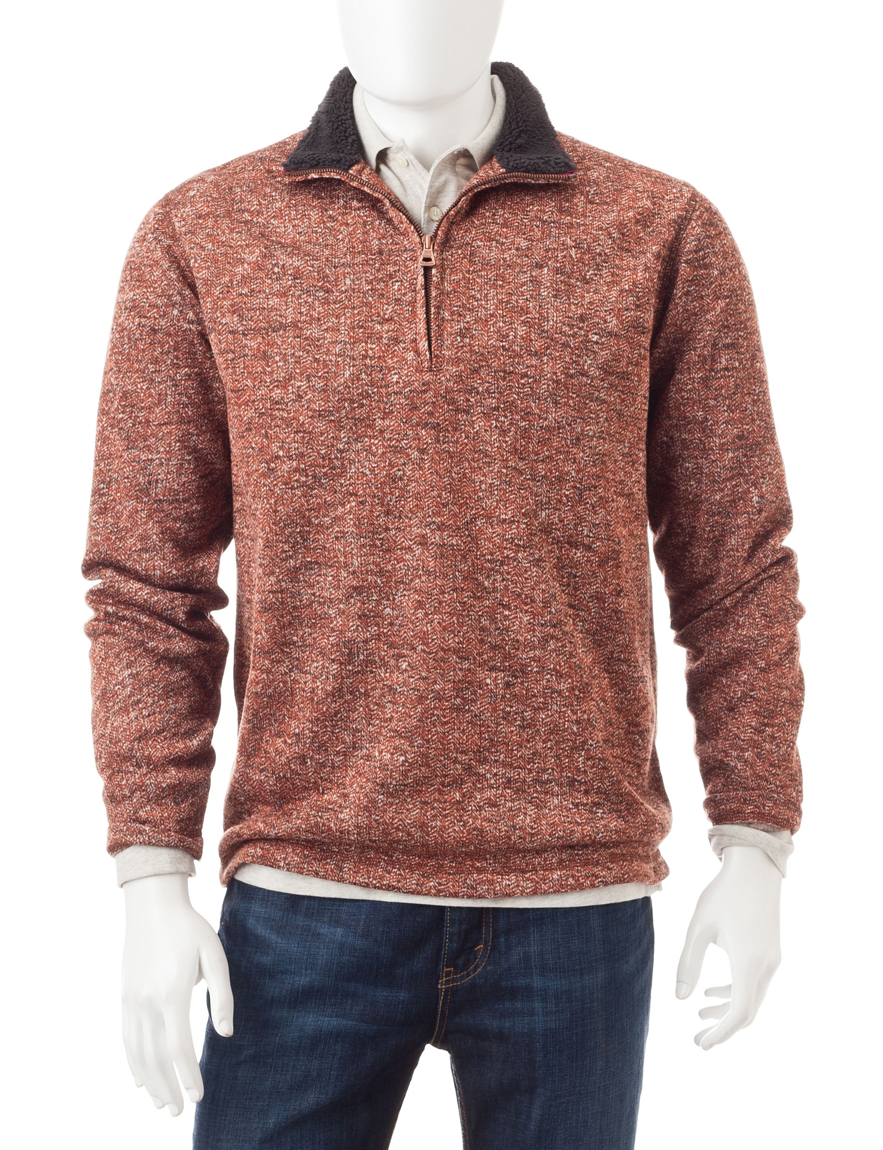 Weatherproof Rust Pull-overs Sweaters