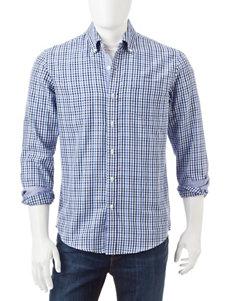 Michael Brandon Gingham Print Woven Shirt
