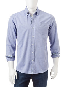 Michael Brandon Oxford Woven Shirt