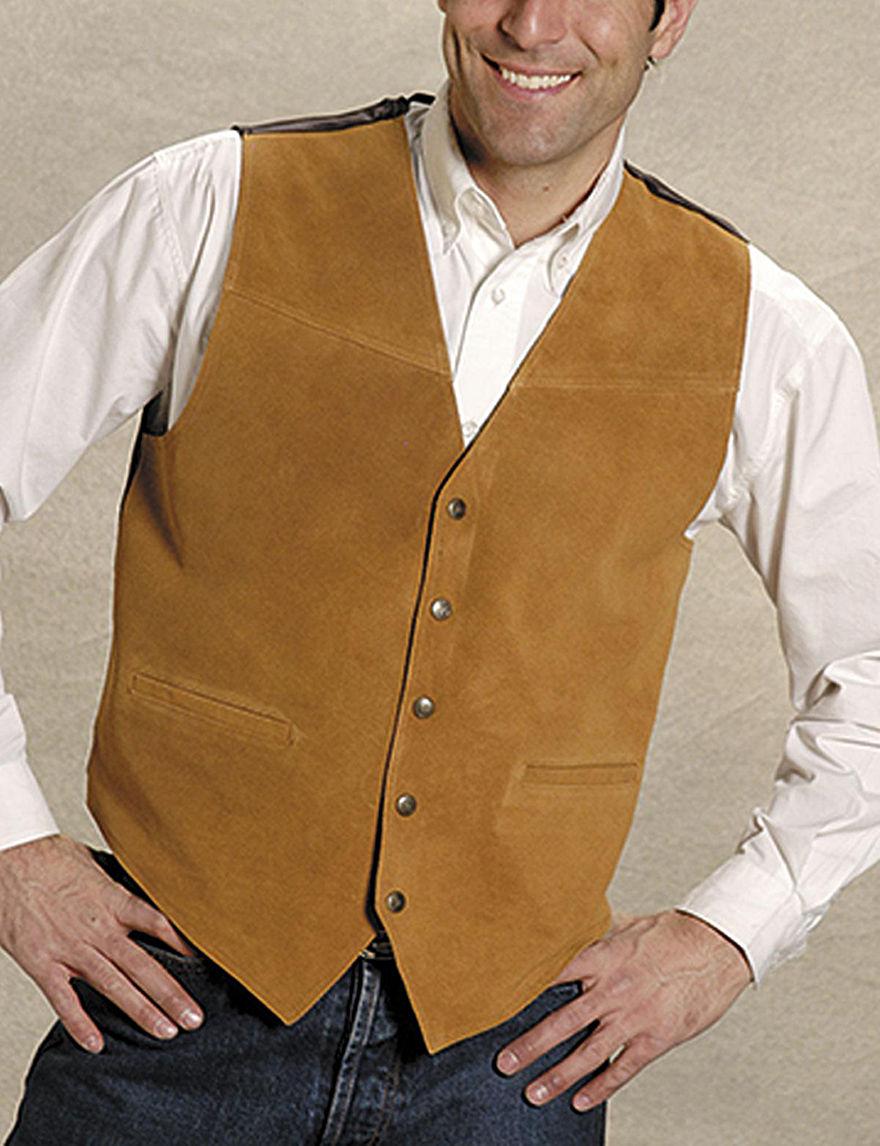 Roper Brown Vests