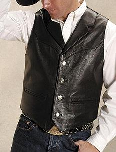 Roper Brown Genuine Leather Vest