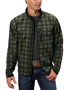 Roper Plaid Print Tech Jacket