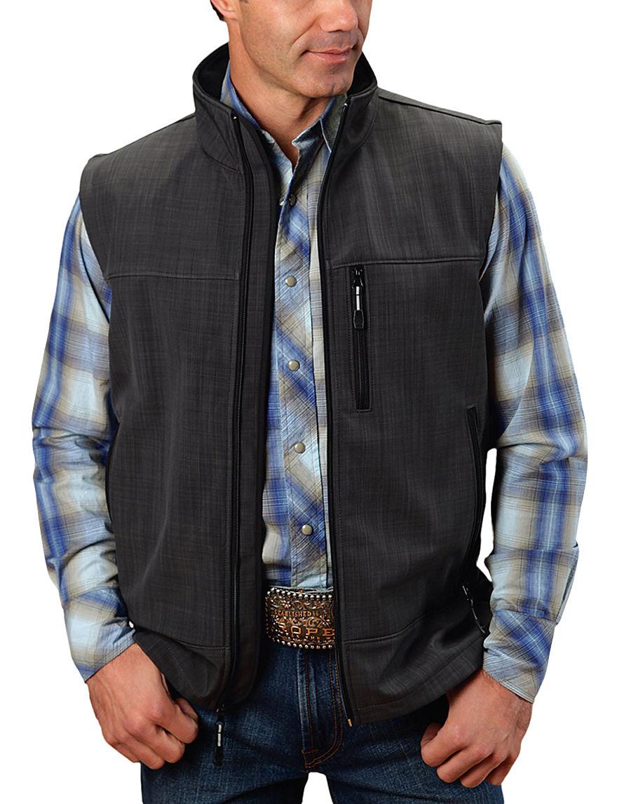 Roper Grey Lightweight Jackets & Blazers