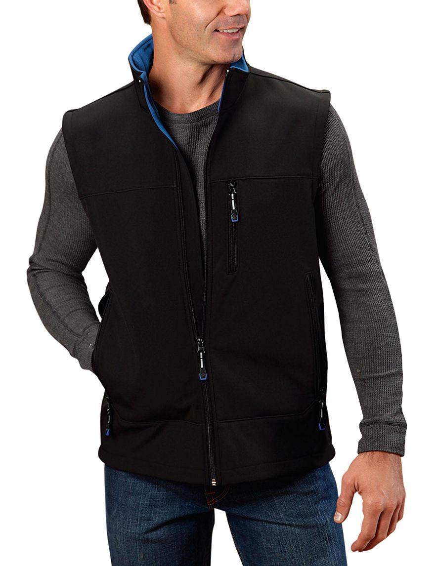 Roper Black Lightweight Jackets & Blazers