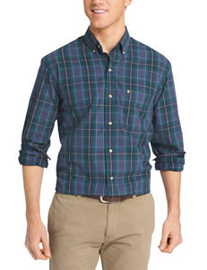 Izod Big & Tall Woven Button Down Shirt