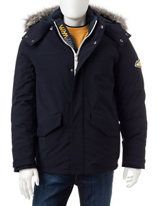 VRY WRM Navy Insulated Jackets Puffer & Quilted Jackets