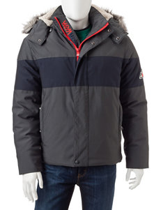 VRY WRM Gray Puffer & Quilted Jackets