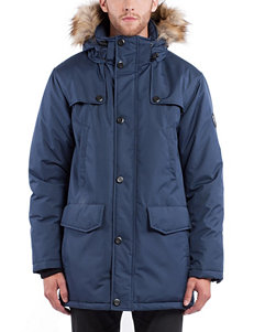 Noize Blue Puffer & Quilted Jackets