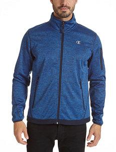 Champion Blue Fleece & Soft Shell Jackets