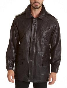 Excelled Black Car Coats Peacoats & Overcoats