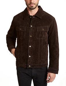 Excelled Brown Denim Jackets