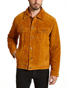 Excelled Big & Tall Genuine Leather Jacket
