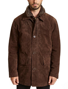 Excelled Suede Car Coat