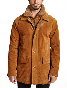 Excelled Big & Tall Suede Car Jacket