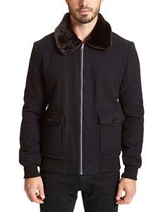 Excelled Black Bomber Jacket