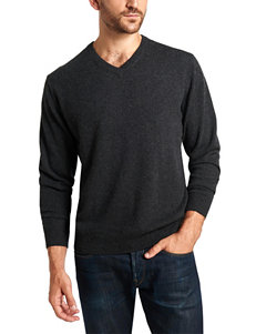Weatherproof Dark Grey Pull-overs Sweaters