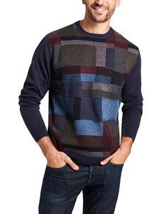 Weatherproof Multicolor Block Print Sweater