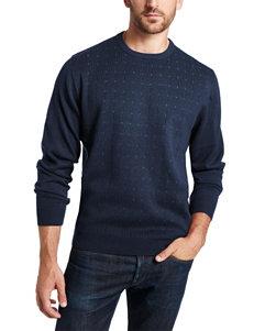 Weatherproof Navy Sweater