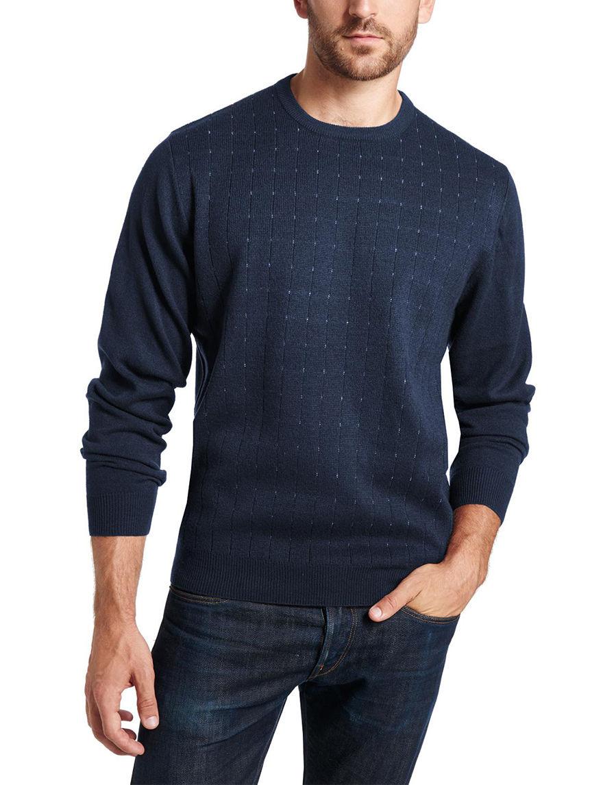 Weatherproof Navy Pull-overs Sweaters