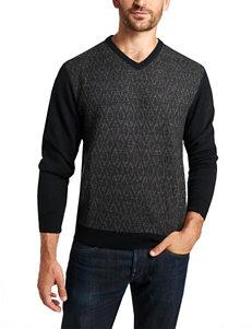 Weatherproof Diamond Print Sweater