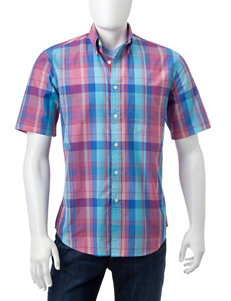 Sun River Bold Plaid Shirt