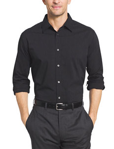 Van Heusen Big & Tall Pinstriped Woven Traveler Shirt