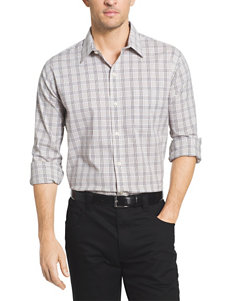 Van Heusen Big & Tall Tattersall Woven Shirt