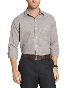 Van Heusen Big & Tall Tattersall Traveler Shirt