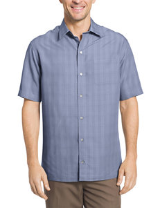 Van Heusen Blue Casual Button Down Shirts