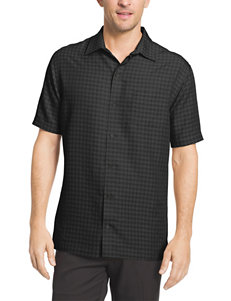 Van Heusen Gingham Print Woven Shirt