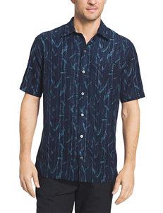 Van Heusen Big & Tall Oasis Bamboo Woven Shirt