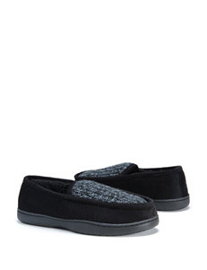 MUK LUKS Henry Knit Moccasin Slippers