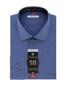 Van Heusen Dutch Blue Dress Shirts