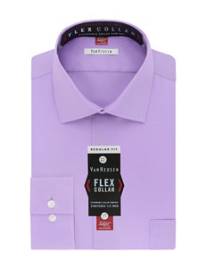 Van Heusen Purple Dress Shirts