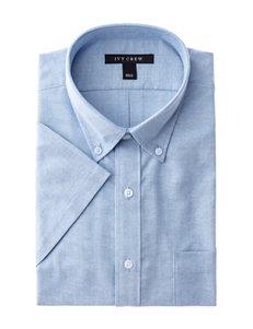 Ivy Crew Light Blue Dress Shirts