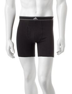 Adidas Black Boxer Briefs