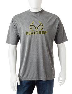 Realtree Charcoal Tees & Tanks