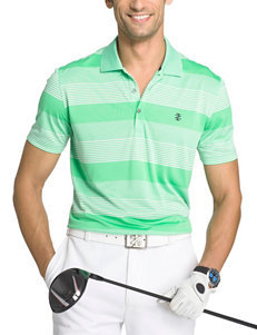 Izod Bright Green Polos