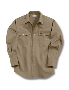 Carhartt Khaki Casual Button Down Shirts