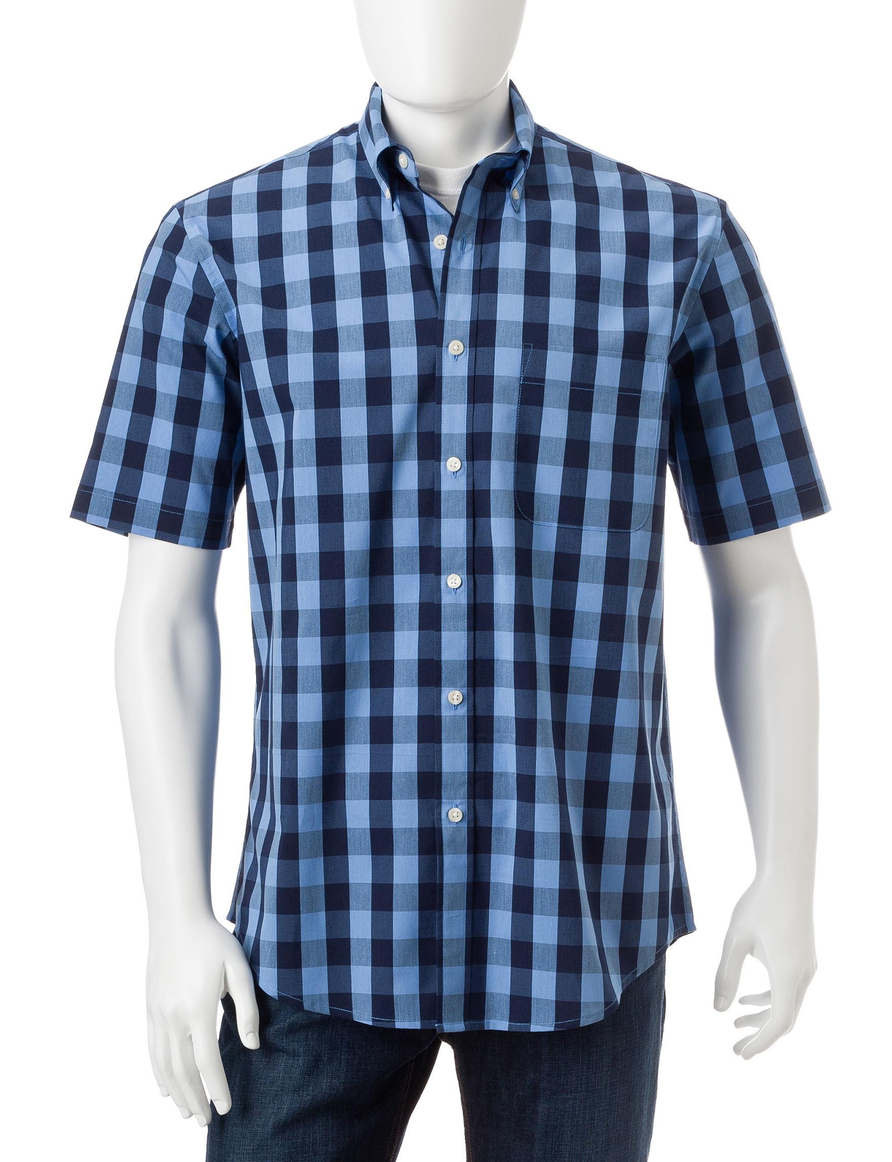 Sun River Lake View Casual Button Down Shirts