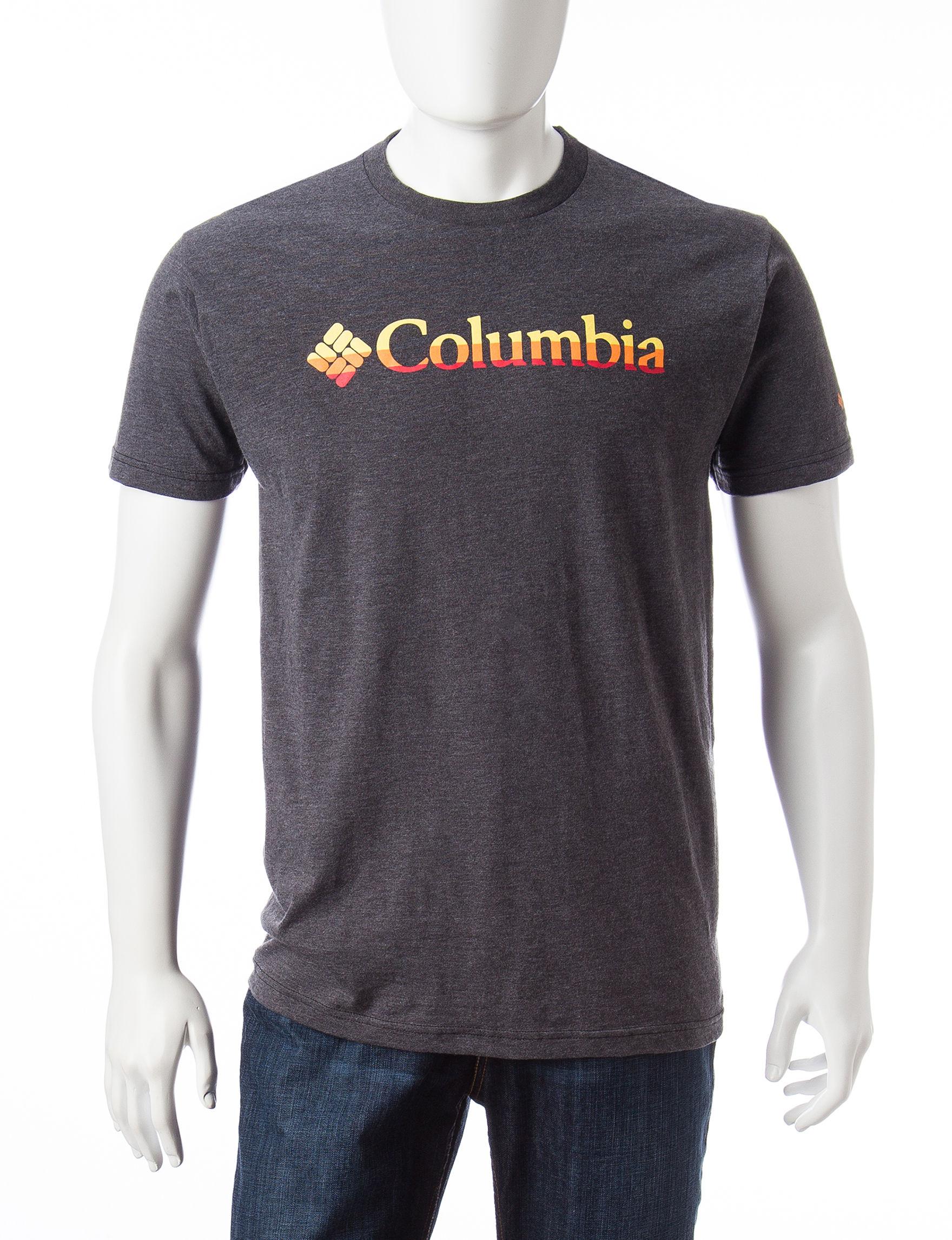 Columbia Charcoal Tees & Tanks