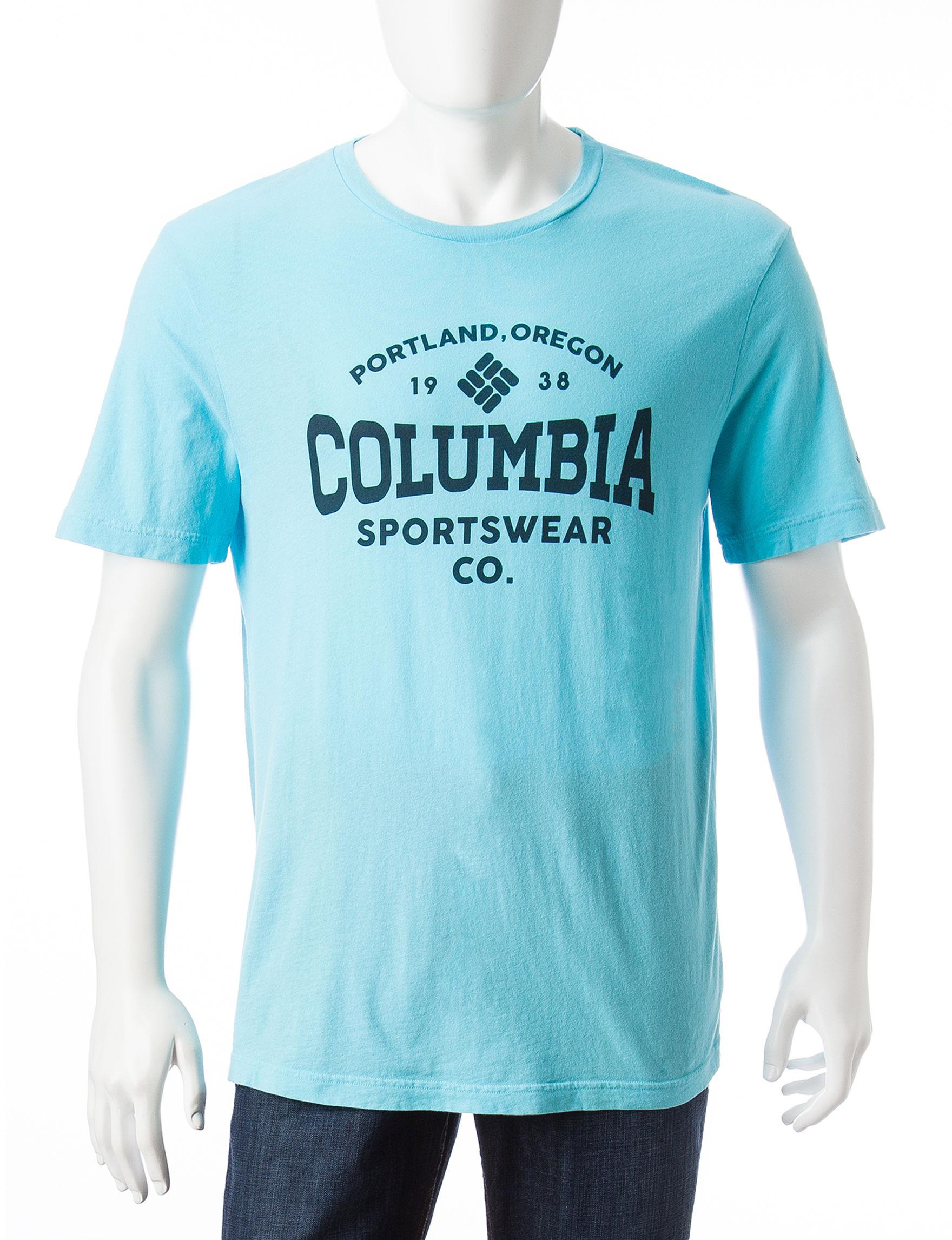 Columbia Blue Tees & Tanks