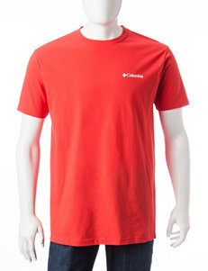 Columbia Red Tees & Tanks