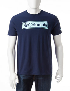 Columbia Navy Tees & Tanks
