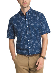 Arrow Navy Casual Button Down Shirts