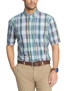 Arrow Blue Casual Button Down Shirts