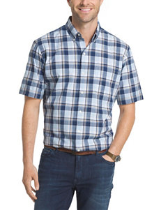 Arrow Ice Blue Casual Button Down Shirts